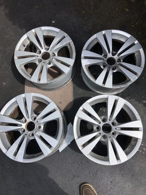"""BMW factory 17"""" wheels alloy rims for Sale in Vienna, VA"""