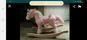 Sound N Light Animatronics Pink Rocking Horse for Sale in Garden Grove, CA