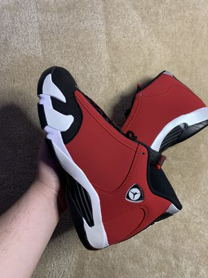 "Air Jordan 14 ""Gym Red Toro"" for Sale in Clinton, MD"