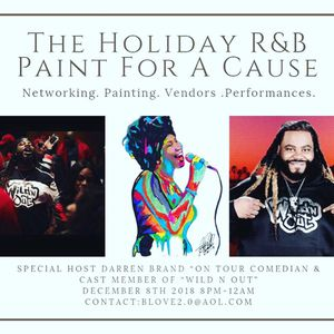 The Holiday Paint For A Cause for Sale in Raleigh, NC