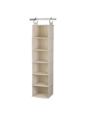 Closet Hanging Organizer - Beige for Sale in Brambleton, VA