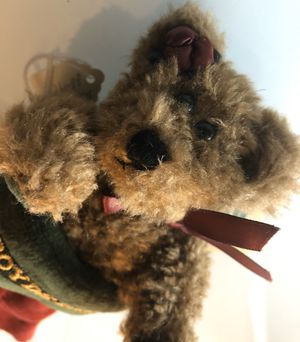 New! BOYDS BEARS Collectible Plush Teddy Bear in Stocking Toy for Sale in Pacifica, CA