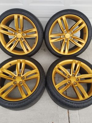 Staggered Corvette ss Wheels & Goodyear Tires for Sale in Bedford Park, IL