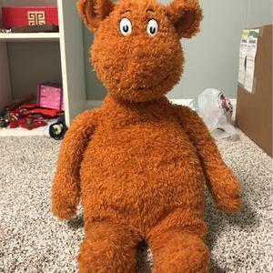 dr seuss bear stuffed animal for Sale in Hanover Park, IL