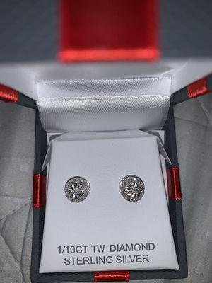 Diamond earrings ( negotiable pricing ) for Sale in Waterbury, CT