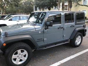 2014 Wrangler Unlimited - 4 door - 4WD - Hardtop - Warranty until June 2022 - 51K miles for Sale in Orlando, FL