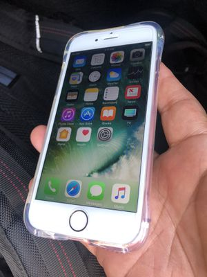 Perfect working condition silver iPhone 6s 32gb unlocked for T-Mobile and metro PCs att and cricket for Sale in Santa Ana, CA