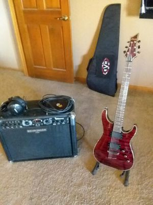 Schecter Hellraiser Electric Guitar for Sale in Hesperia, CA