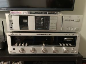 Marantz 2220B vintage stereo receiver amp trade Nintendo Switch for Sale in Greenville, SC
