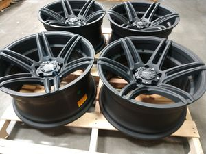 """JEEP wheels and tires 18"""" and 35/12.5/35} falken M/t new for Sale in Ontario, CA"""
