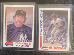 1982 Topps Rich Gossage baseball cards for Sale in Hayward, CA