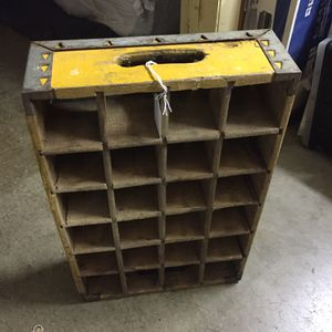 Old pop bottle crate for Sale in Scappoose, OR
