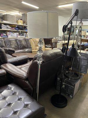 Crystal floor lamp for Sale in Spring, TX