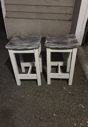 2 small wooden stools for Sale in Covington, WA