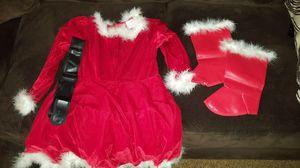 Santa girl/ christmas dress for Sale in Chula Vista, CA