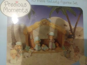 Precious moments 10 piece nativity set for Sale in Westerville, OH