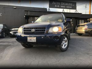 2001 Toyota Highlander for Sale in Los Angeles, CA