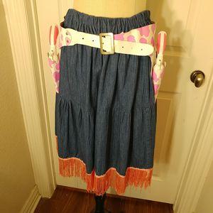 Cowgirl Denim Costume Skirt Se for Sale in Arlington, TX