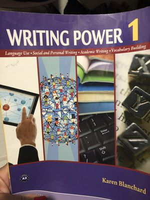 Writing Power 1 - Student Book by Karen Blanchard, Sue Peterson, for Sale in North Miami Beach, FL