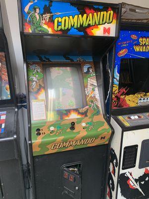 Commando arcade working video game excellent condition for Sale in Garden Grove, CA