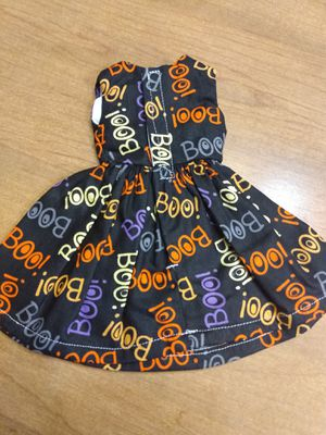 Wellie Wisher Doll Dress Boo! Halloween doll Dress made to fit wellie wishers dolls for Sale in Peoria, IL