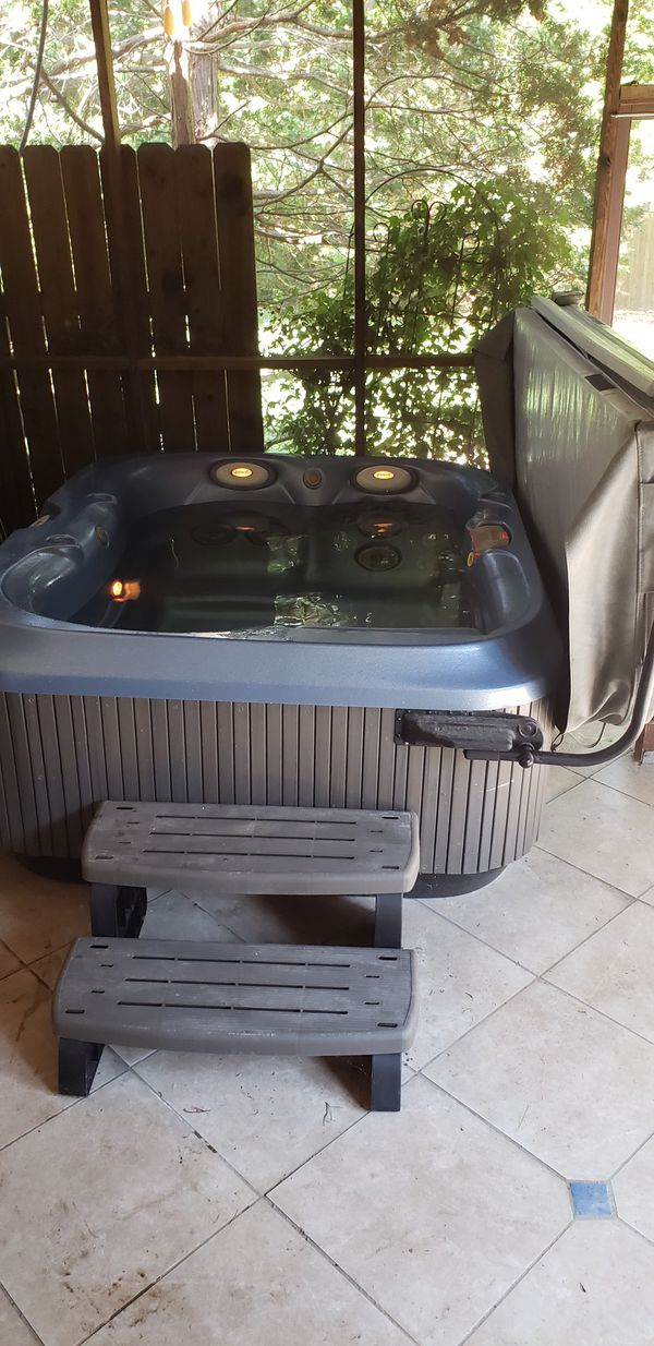Jacuzzi hot tub for sale.