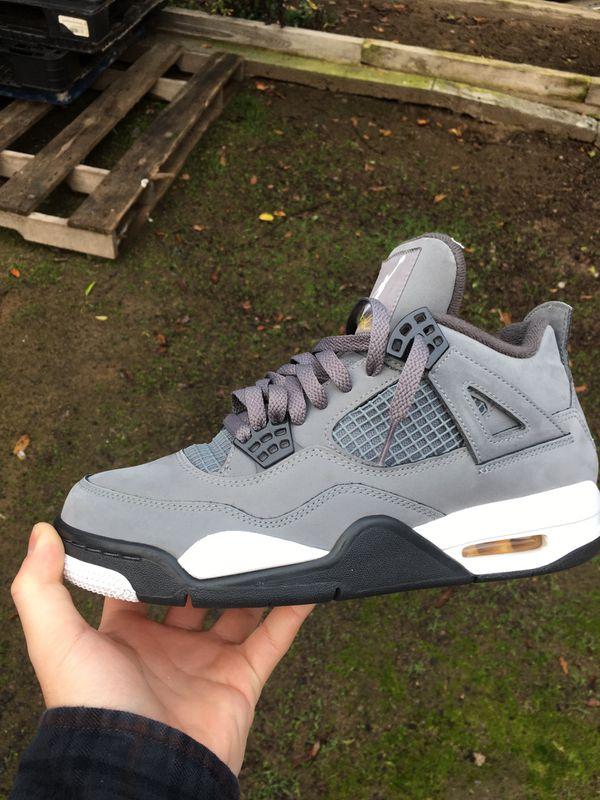 Jordan 4 Cool Grey Size 8