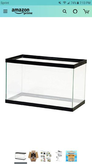 Full fish tank aquarium set up for Sale in TEMPLE TERR, FL