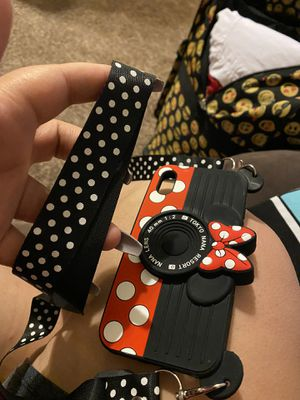 Minnie Mouse case with strap for Sale in Round Rock, TX
