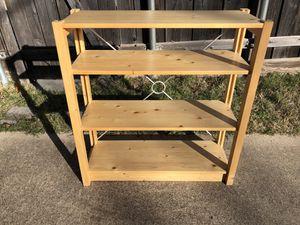 Lundia Classic Low Open Finnish Shelf. Great condition. for Sale in Dallas, TX