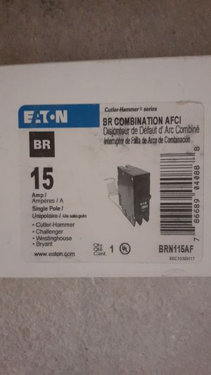 BR combination AFCI BREAKER'S for Sale in Phoenix, AZ