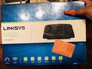 Linksys N300 WiFi Router for Sale in Phoenix, AZ