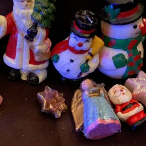 6 Vintage / 5 Antique Xmas Candles for Sale in Chandler, AZ