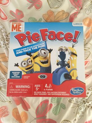 Minion pie face for Sale in Miami, FL