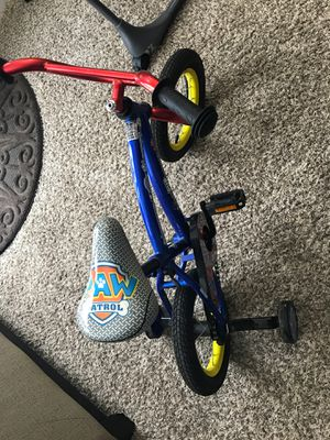 Boys Bike 12'' with helmet for Sale in Elk Grove Village, IL