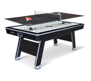 Eastpoint Sports 6.6' NHL air powered hockey hover hockey table with table tennis top for Sale in Austin, TX