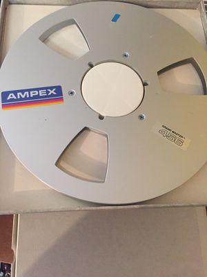 "Ampex 456 Grandmaster Audio Recording 1/4"" Reel to Reel In Original Box for Sale in Glendale, CA"