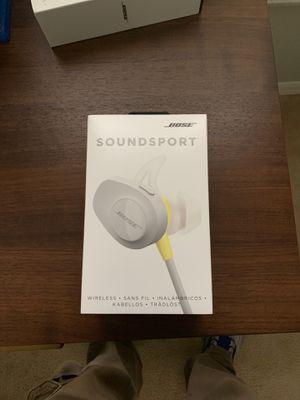 Bose Soundsport Bluetooth Headphones for Sale in Lutz, FL