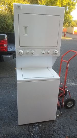 Kenmore combo washer and electric dryer in excellent working and cosmetic condition for Sale in Marlboro Township, NJ