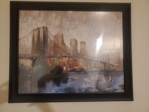NYC Art Print in Frame for Sale in Coolidge, AZ