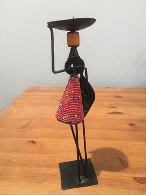Kenyan candle holder for Sale in Los Angeles, CA