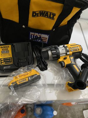 Dewalt hummer drill, one battery, charger and bag for Sale in North Highlands, CA