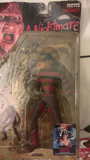Nightmare on elm Street action figure collectibles for Sale in San Fernando, CA