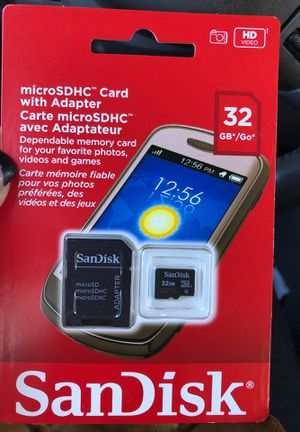 Micro card with adapter for Sale in Honolulu, HI