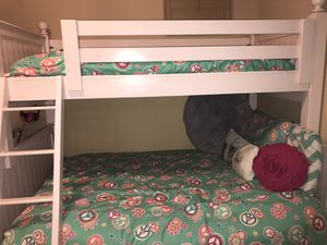 Pink Twin over Full Bunk beds for Sale in Scottsdale, AZ