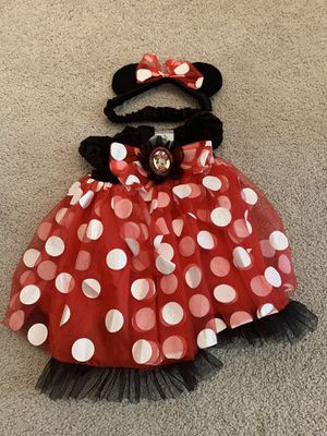 Minnie Mouse baby costume for Sale in Clermont, FL