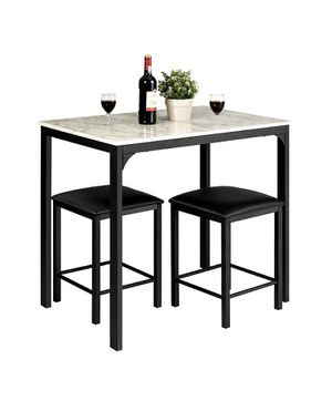 Costway 3 Piece Counter Height Dining Set for Sale in Bakersfield, CA