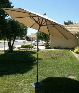 New beige Sunbrella umbrellas for sale for Sale in Ontario, CA