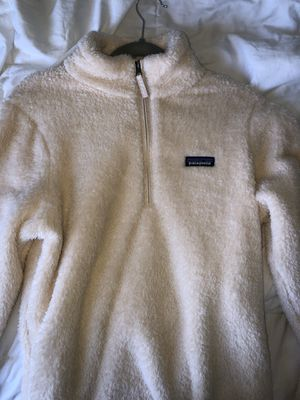 patagonia, white women's quarterzip for Sale in Ashburn, VA
