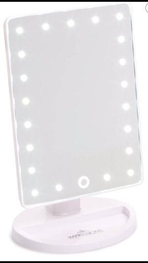 New Impressions Touch 2.0 Dimmable LED vanity Travel Cosmetic Makeup Mirror for Sale in Chicago, IL